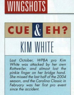 CUE & EH? WITH KIM WHITE