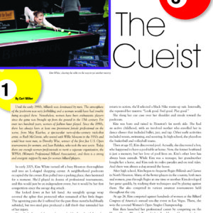 THE CUEIST IN CHANGE MAGAZINE