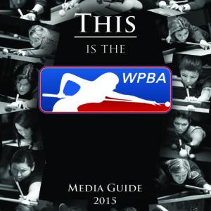 2016 WPBA MEDIA GUIDE