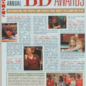 2004 BD AWARD - MOST IMPROVED PLAYER